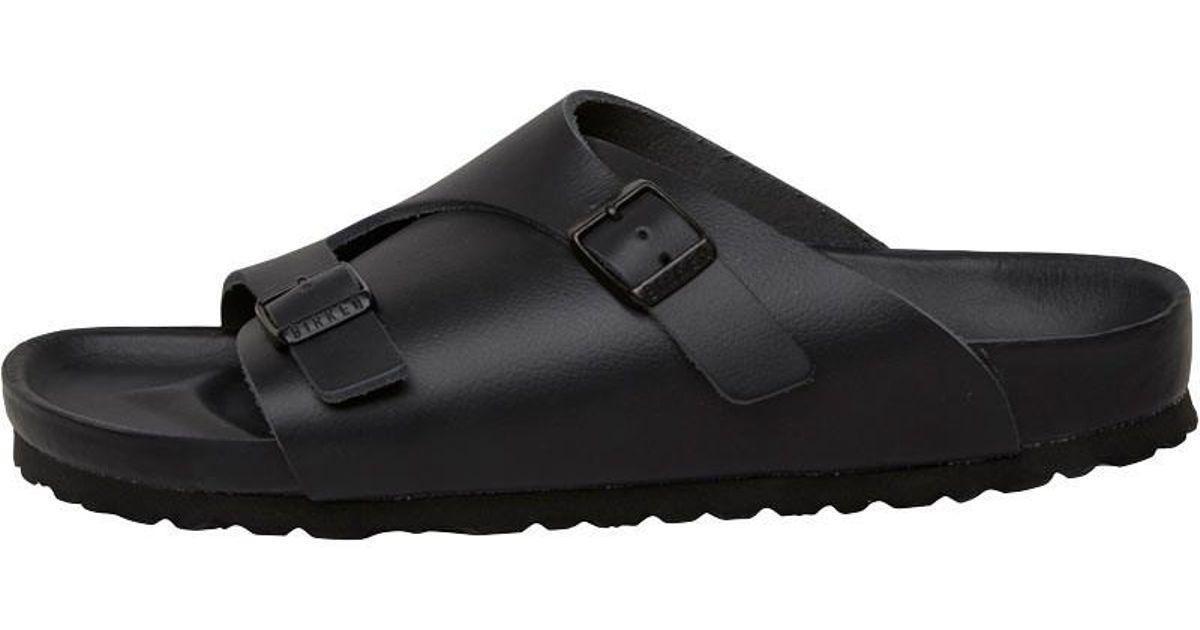 f6bd446c4ba0 Birkenstock Zurich Narrow Fit Sandals Black in Black for Men - Lyst