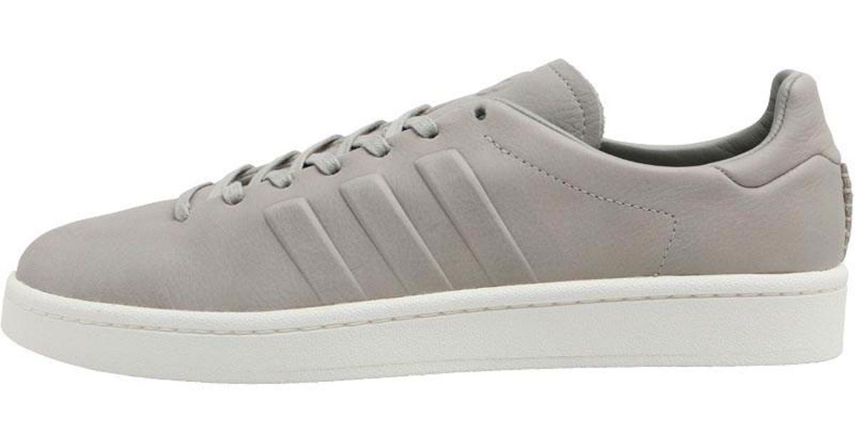 competitive price dc458 55c0d adidas Originals X Wings + Horns Campus Trainers Sesamesesamechalk White  in Gray for Men - Lyst