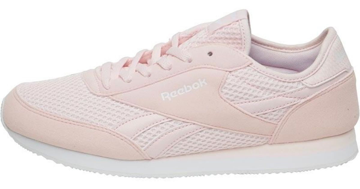 cec11b9c5262 Reebok - Royal Classic Jogger Trainers Porcelain Pink white - Lyst