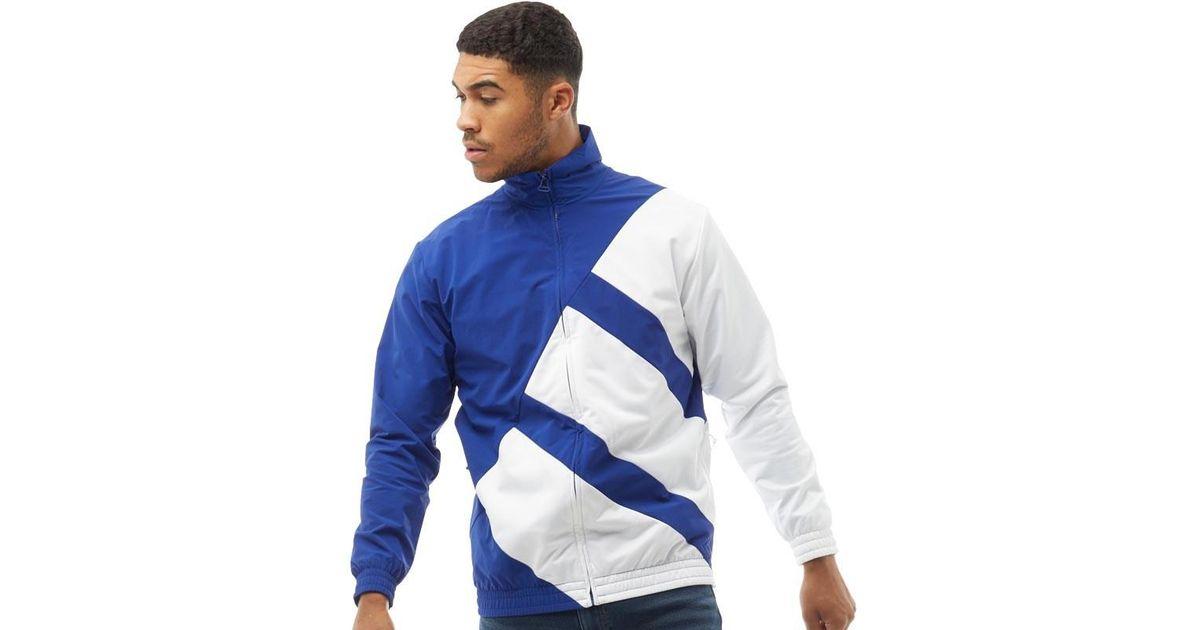 Adidas Originals White Eqt Superstar Bold Track Jacket for men