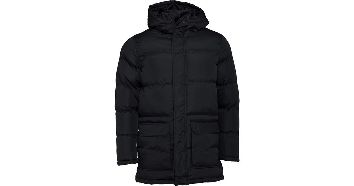 b6d3e6e42a8 French Connection Row Parka Black in Black for Men - Lyst