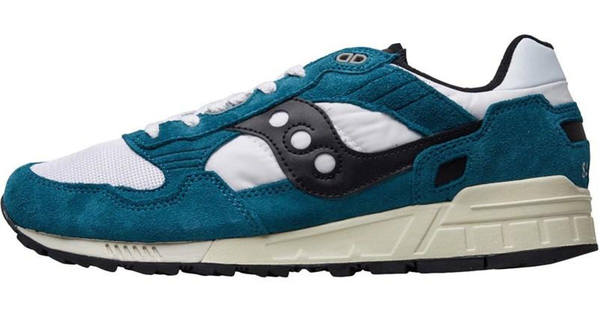 big sale 5cd4b 93011 Saucony - Blue Shadow 5000 Vintage Trainers Teal/white/black for Men - Lyst
