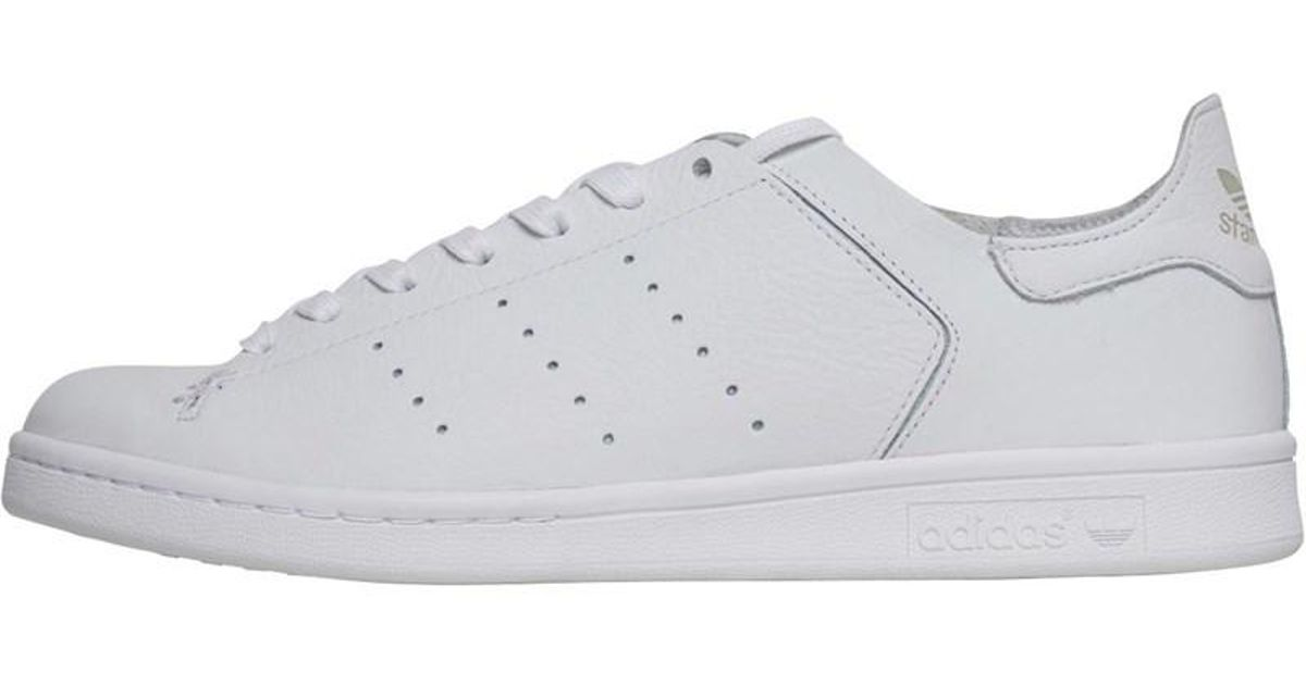0272d0f72 adidas Originals Stan Smith Leather Sock Trainers Footwear White/footwear  White/footwear White in White for Men - Lyst