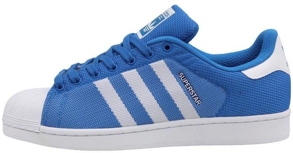 ba4ba44f57040f adidas Originals Superstar Trainers Bluebird white bluebird in Blue for Men  - Lyst