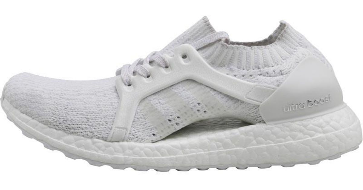 competitive price 62023 ac71e adidas Ultraboost X Neutral Running Shoes Cloud White crystal White grey  One in White - Lyst