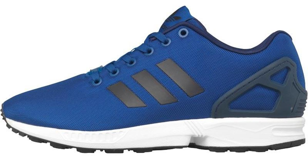 new styles e7261 1e957 Adidas Originals - Blue Zx Flux Trainers Collegiate Royal/core  Black/footwear White for Men - Lyst