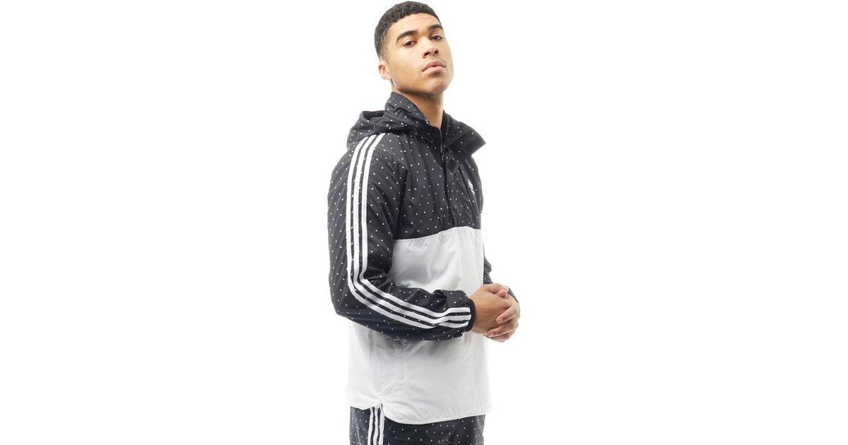 adidas Originals Pharrell Williams Hu Woven Hoody Black white in Black for  Men - Lyst f8c792fa3