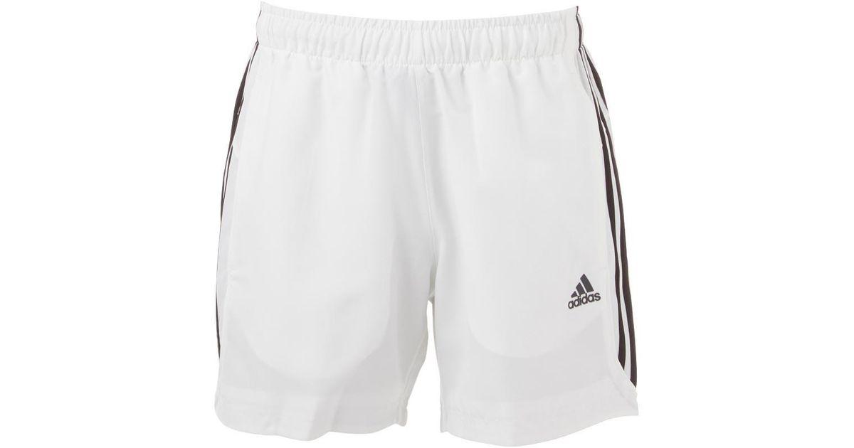Adidas Mens Essential 3 Stripe Chelsea Shorts Clothes
