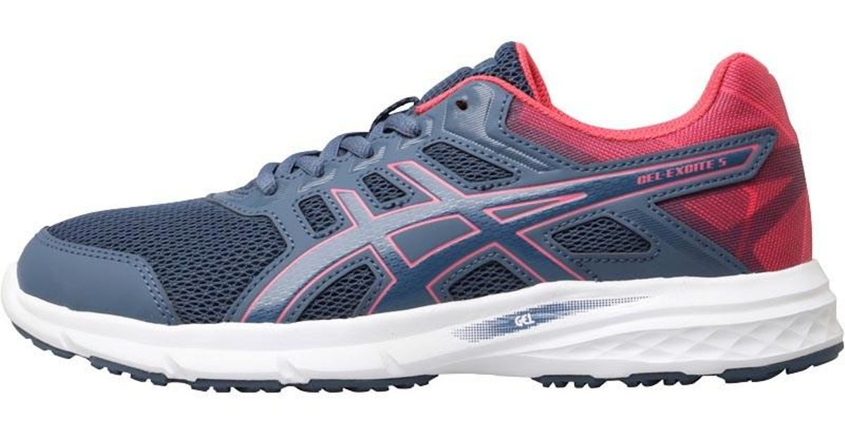 e4befff8f620 Asics Gel Excite 5 Neutral Running Shoes Smoke Blue smoke Blue hot Pink in  Blue - Lyst