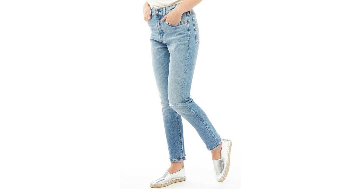1cad7ce99ebca Levi s 501 Skinny Jeans Post Modern Blues in Blue - Lyst