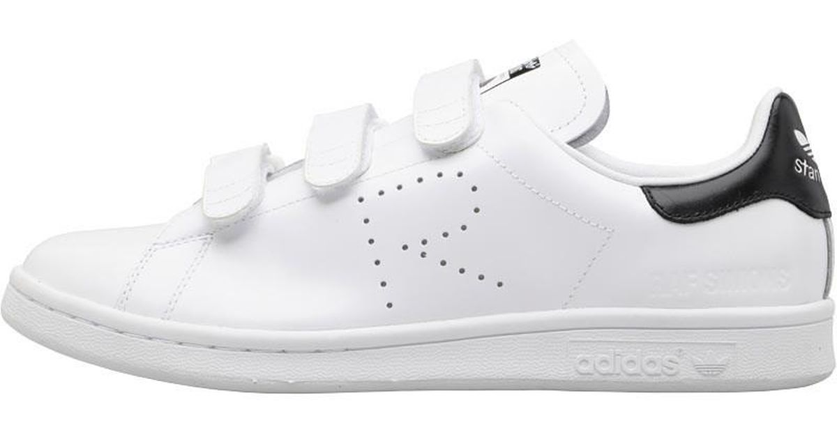 cheap for discount 86679 bb426 adidas Originals X Raf Simons Stan Smith Comfort Trainers Footwear White footwear  White core Black in White for Men - Lyst