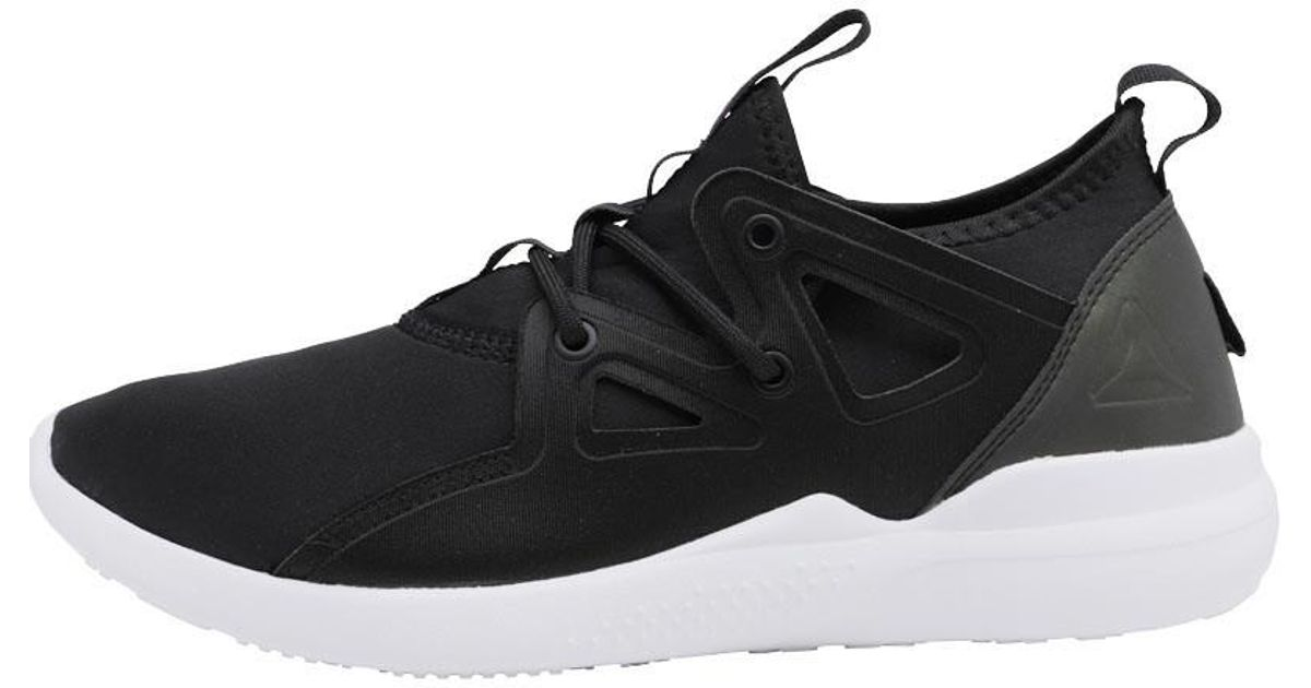46b7e4cf78b7 Reebok Cardio Motion Training Shoes Black vicious Violet white in Black -  Lyst