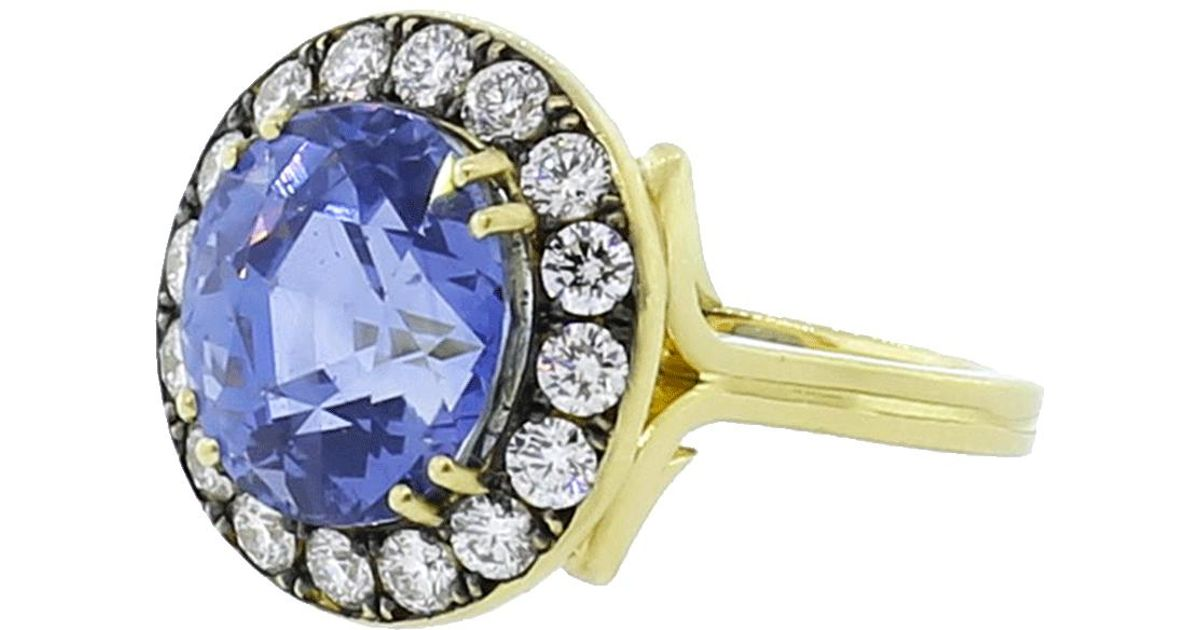 dfdc3569687 Lyst - Sylva   Cie Ring in Metallic