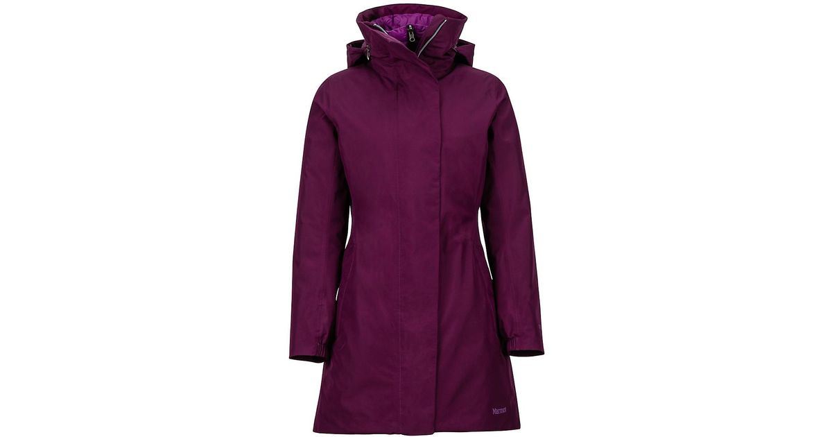 88f15d4ef5a Lyst - Marmot West Side Comp Jacket in Purple
