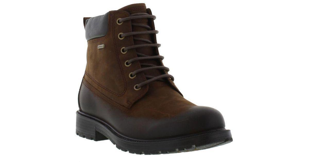 1ecd3ee47784 Geox U Fiesole Abx Boots in Brown for Men - Lyst