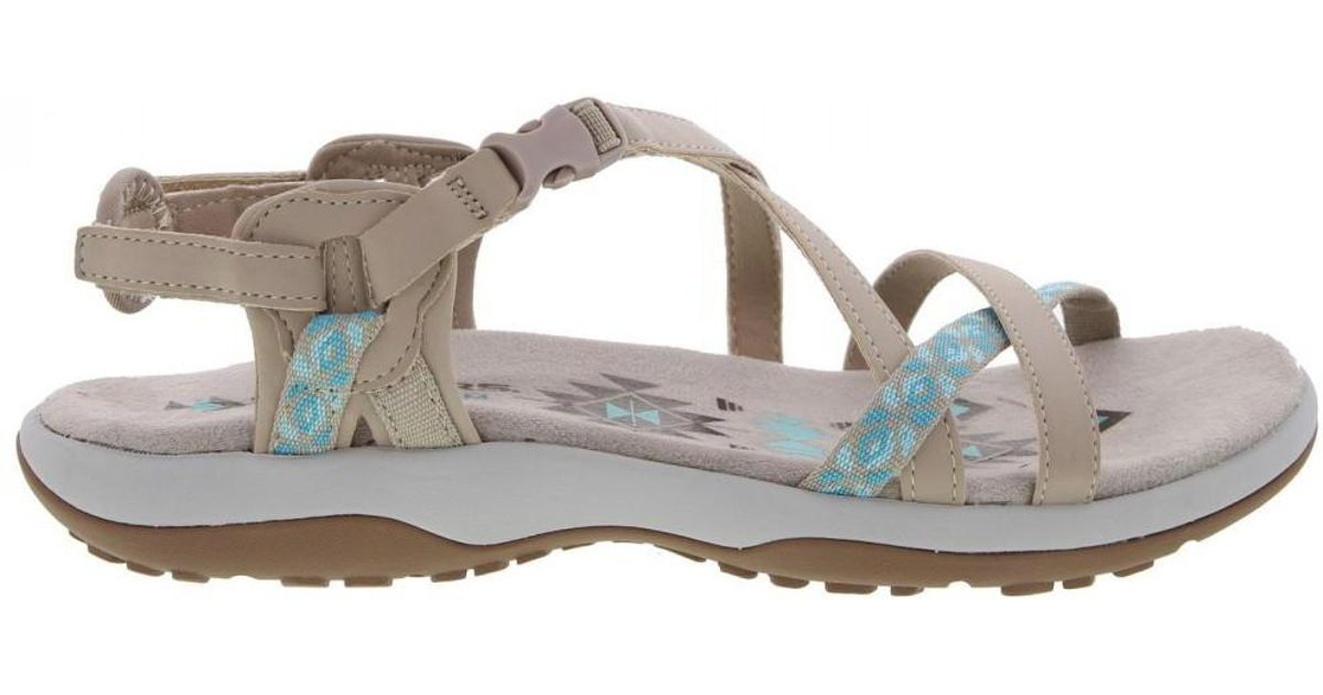 bbedc3a3b85 Skechers Reggae Slim Vacay Adjustable Walking Sandals - Lyst