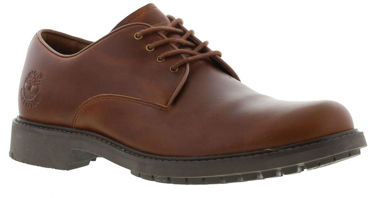 73343c0769a67 Timberland Earthkeeper Stormbuck Waterproof Shoes - Tan in Brown for Men -  Lyst