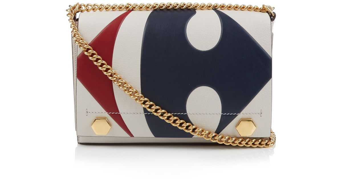 af8a6488d7 Lyst - Anya Hindmarch Carrefour Ephson Leather Shoulder Bag