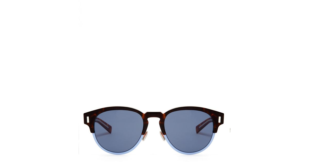 6f45196595c8c Lyst - Dior Homme Blacktie 2.0s D-frame Sunglasses in Brown for Men
