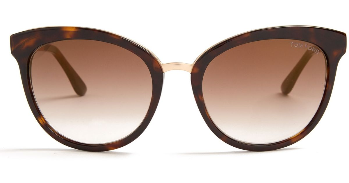 6f9ddd76d7 Lyst - Tom Ford Emma Cat-eye Sunglasses