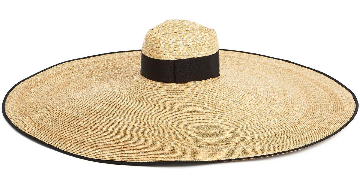Gucci Oversized-brim Straw Hat in Natural - Lyst 4f0d2b9359a