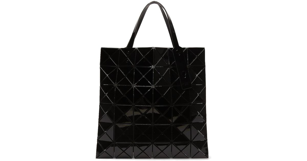 b5edecef50a6 Lyst - Bao Bao Issey Miyake Lucent Tote in Black
