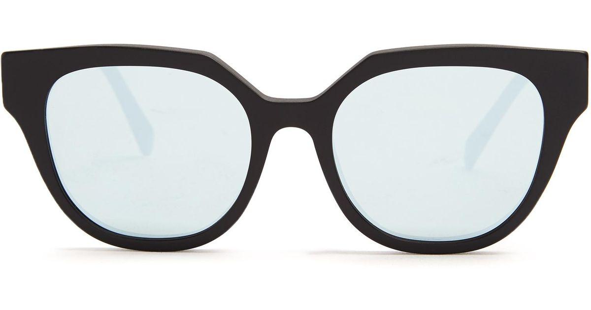 Zizza Zero sunglasses - Black Retro Superfuture DlBArOo17