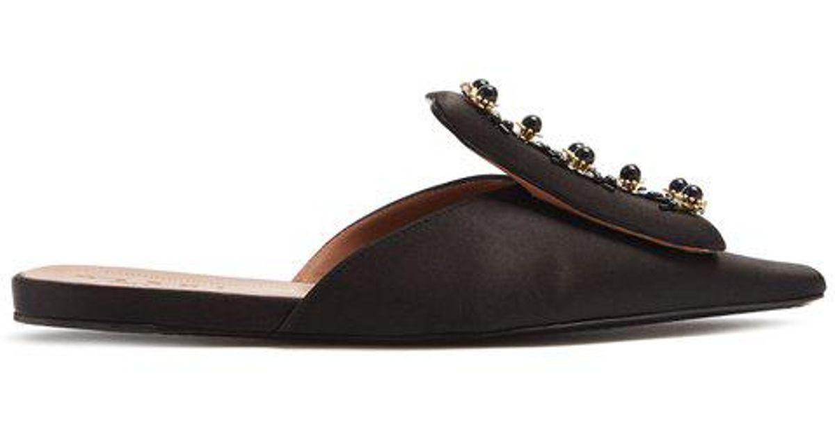 reputable site ee5d3 5db27 marni-BLACK-Embellished-Satin-Slipper-Shoes.jpeg