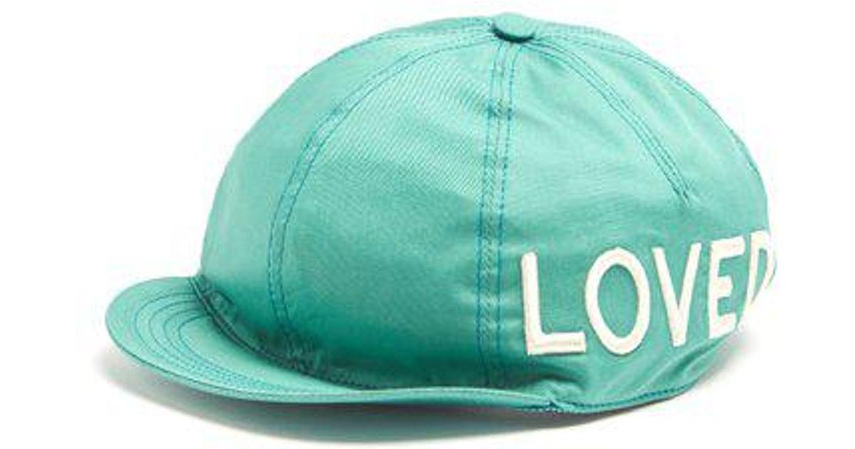 Gucci Logo Wool Headband in Green - Save 26% - Lyst f4f6e0abde6