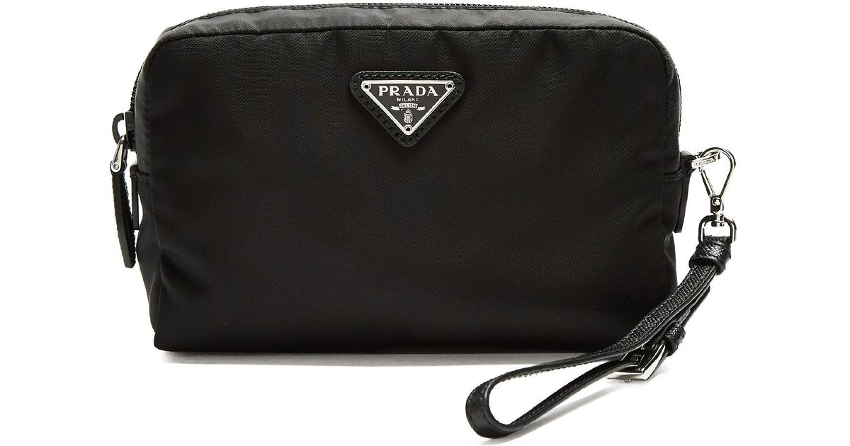 Zip-around cosmetics case Prada 8eyr84W