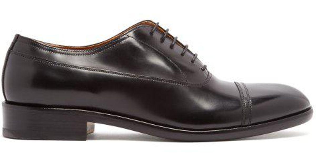 Toe-cap stitch derby shoes Maison Martin Margiela nEXONcDF
