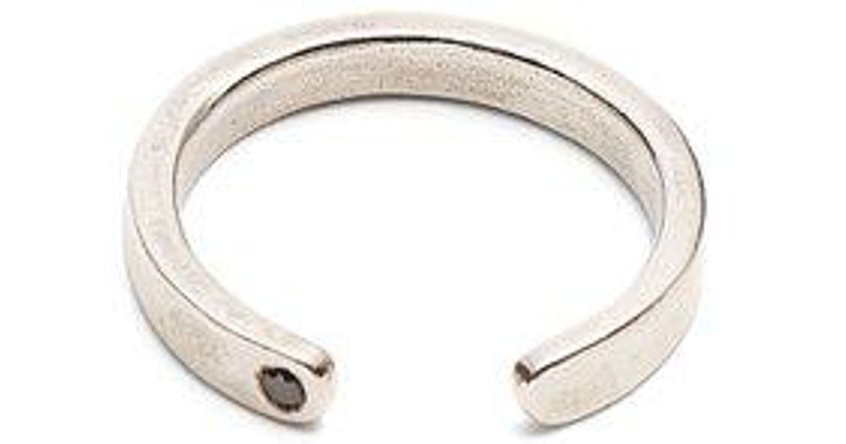 Title Of Work Open Curve black-diamond sterling-silver ring xSzMzlNvO