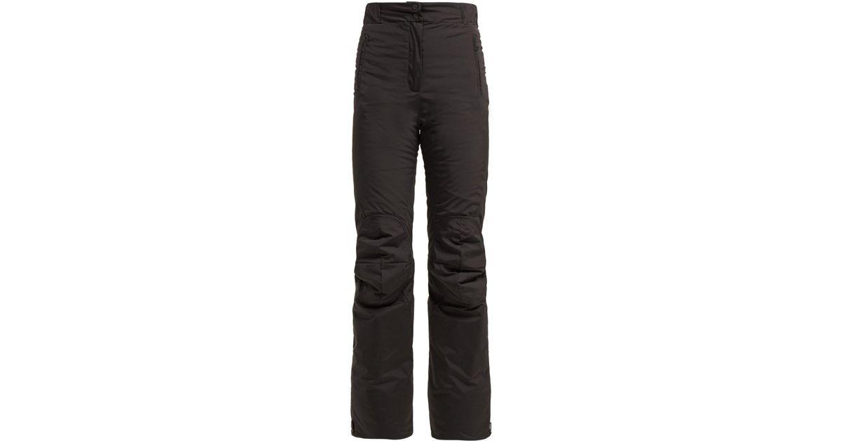 Lyst - Fendi High Rise Padded Technical Ski Trousers in Black f388a67c6