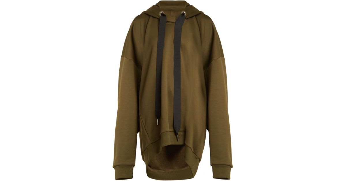 Oversized hooded cotton-blend sweatshirt Marques Almeida Official For Sale Free Shipping From China Discount Codes Shopping Online Outlet Sast Affordable Online bd73xVjD