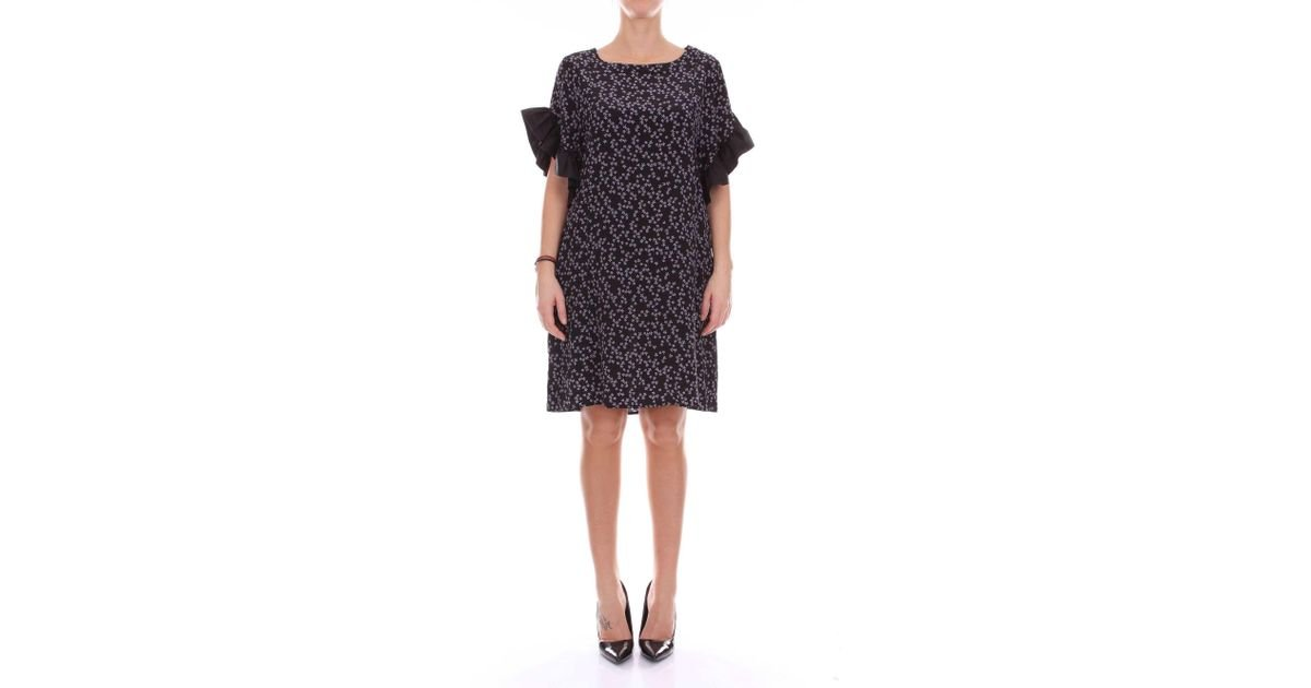 huge selection of quite nice cheaper Attic And Barn - Black Silk Dress - Lyst
