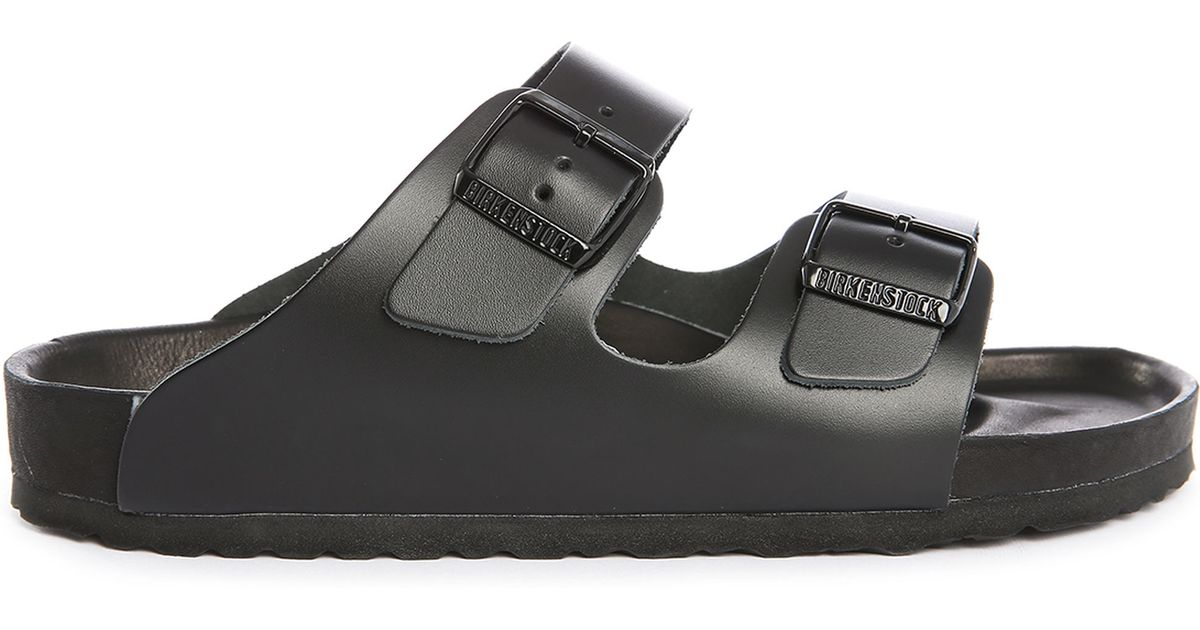 Birkenstock Monterey Exquisite Leather Sandals In Black
