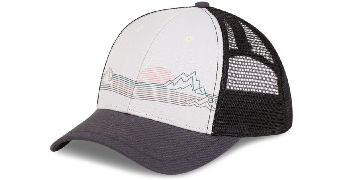 Lyst - Merrell Mountain Scape Trucker Hat for Men 4c139cc4390