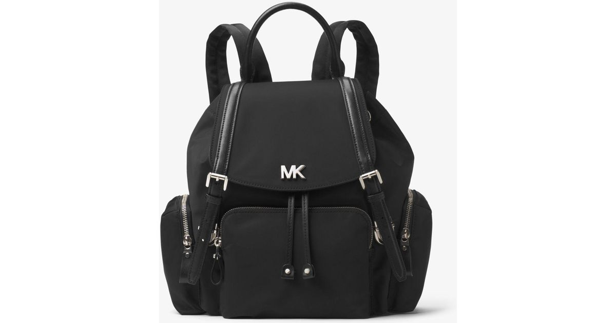 3dd2d031d19f Michael Kors Beacon Medium Nylon Backpack in Black - Lyst
