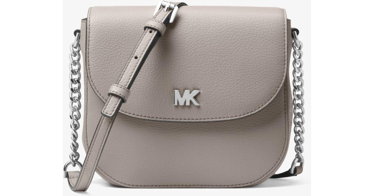bbf275d396f8 MICHAEL Michael Kors Half Dome With Silver Hardware Crossbody Bag in Gray -  Save 26% - Lyst