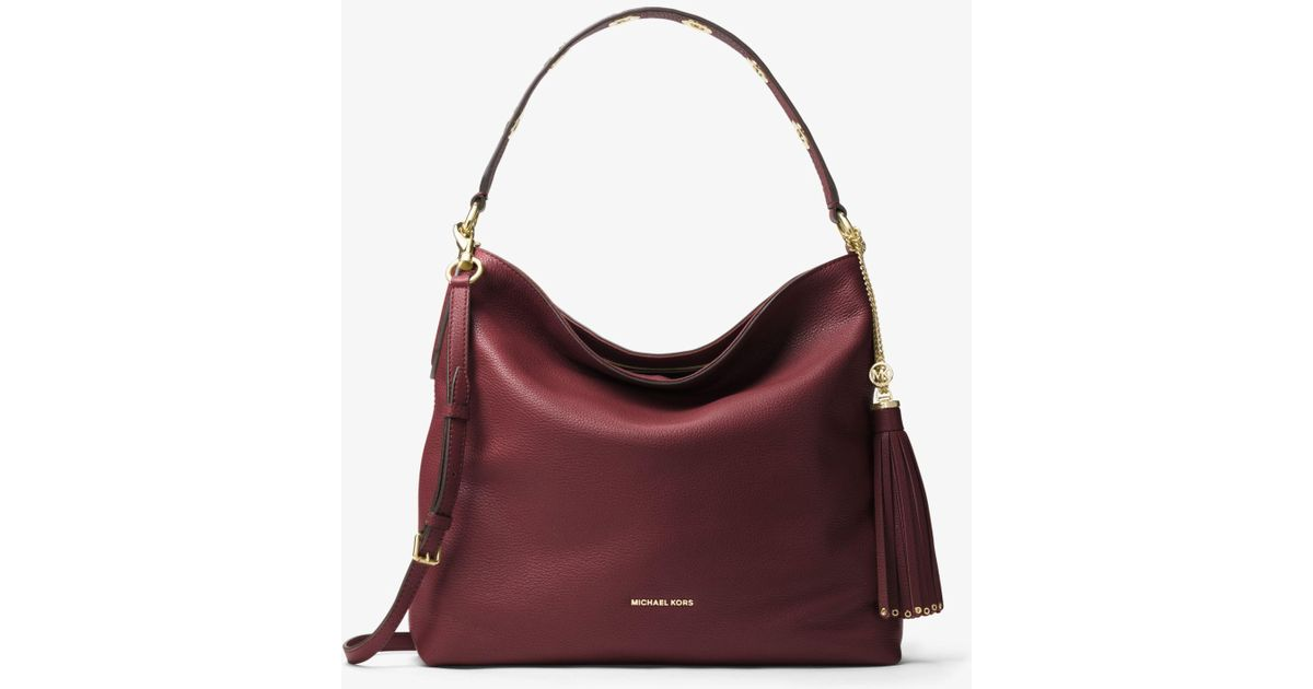 Lyst Multicolor Grand Sac Kors Brooklyn Porté Épaule Cuir Michael En SzMVUp