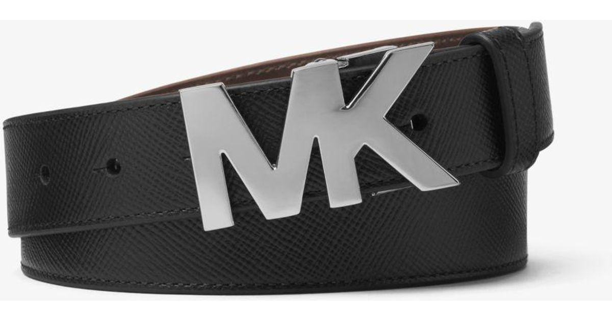 00fcf1570773 ... uk lyst michael kors four in one leather belt box set in black for men  d2559