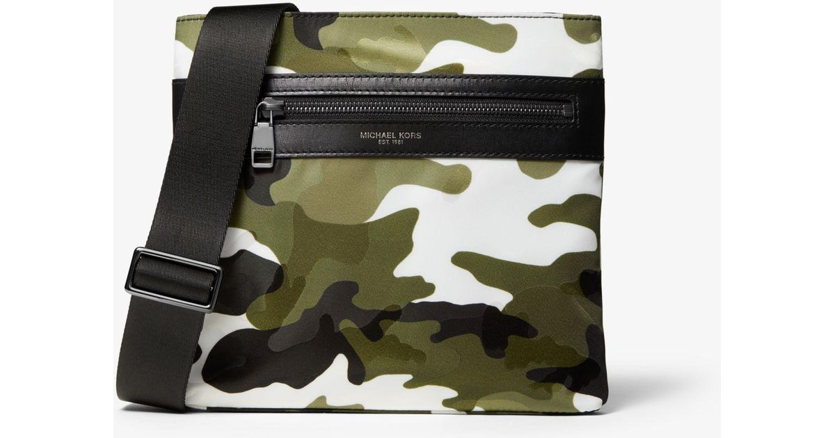 official store best service nice cheap Petit sac à bandoulière Kent en nylon à motif camouflage Michael Kors pour  homme en coloris Multicolor