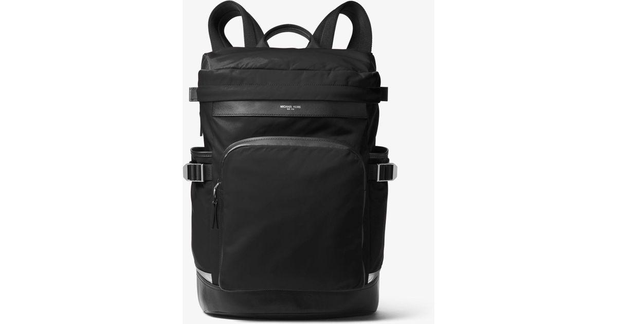6ca558b06c0bb Michael Kors Kent Nylon Cycling Backpack in Black for Men - Lyst