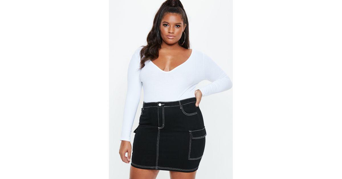 975de78beb4ff Plus Size Black Denim Skirts - Image Skirt and Slipper Imagepv.co