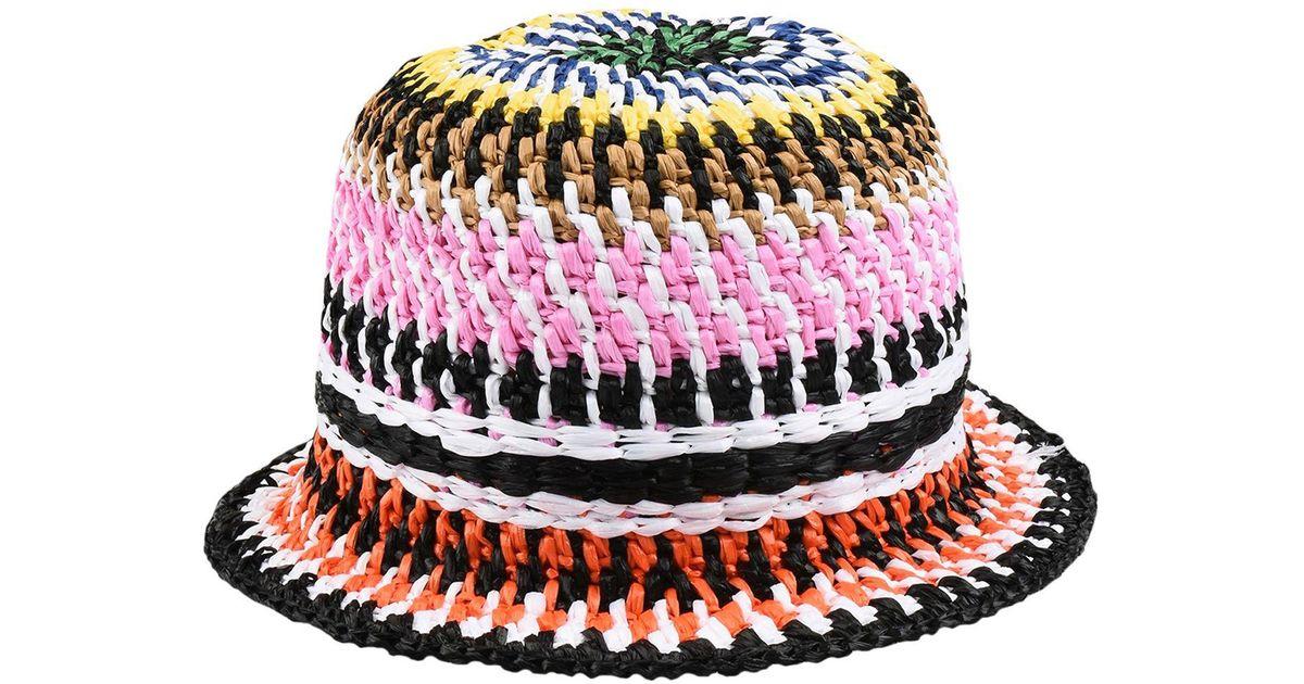 Lyst - Missoni Beach Hat in Red 490d8d2b7c3
