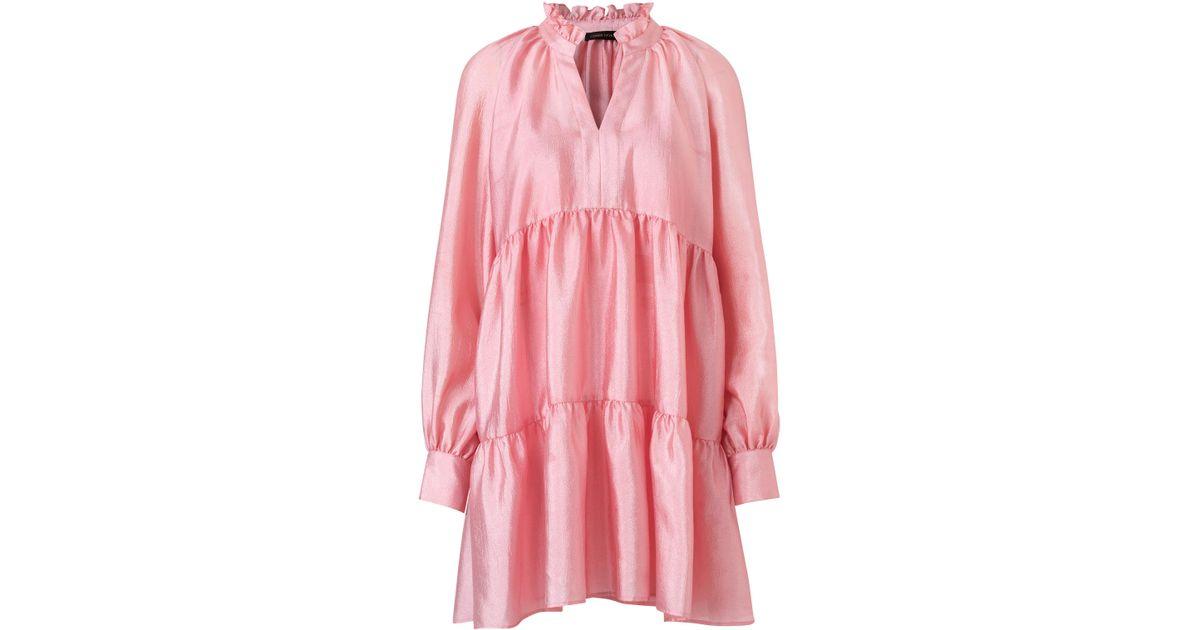 9f6df3e6343a Lyst Shift Mini Dress Goya Jasmine Stine Pink In rwRfqWvrxH