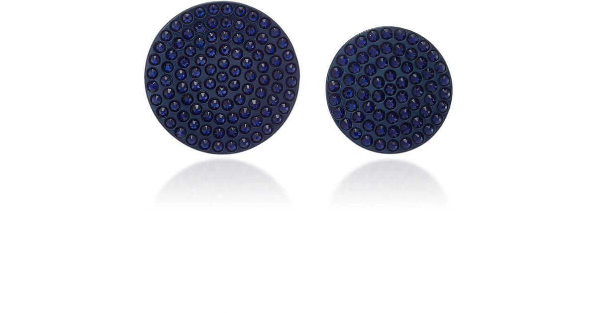 Roxanne Assoulin Full Moon Navy Earrings 05jWspOCCJ