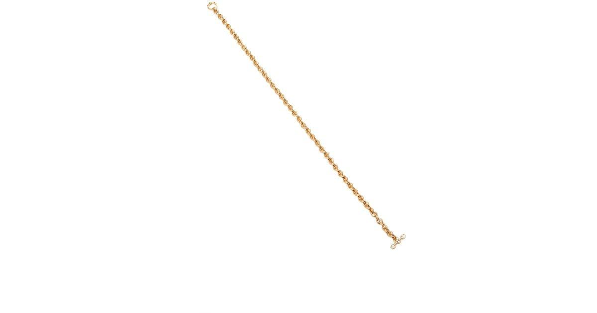 Hoorsenbuhs Lasso Micro Chain Necklace OmLZfB