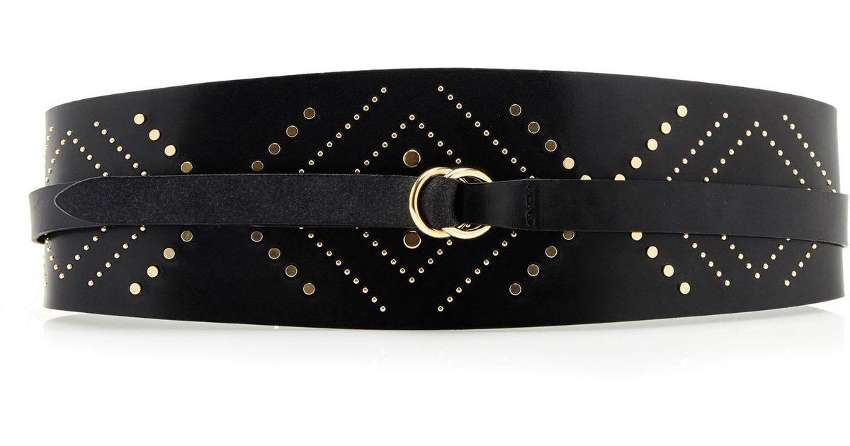 Mini Studded Leather Belt Isabel Marant JHNDvTo