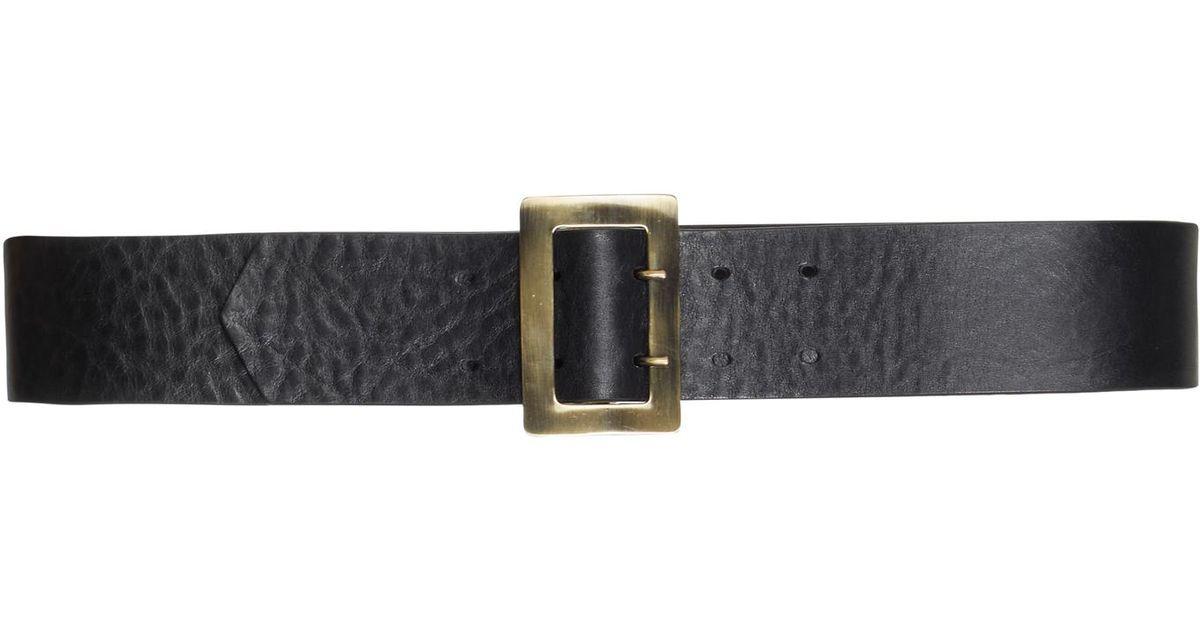 double fastening belt - Black Philosophy di Lorenzo Serafini ZZLcmk
